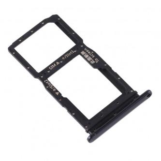 Лоток сим карты и карты памяти Huawei P Smart Z / Y9 Prime (2019) Черный