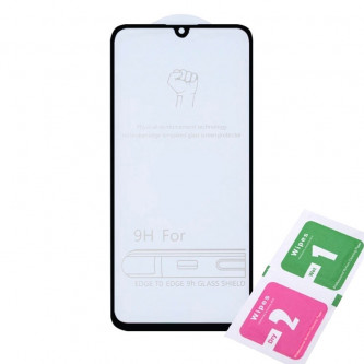 Защитное стекло (Полное покрытие) для для Huawei Honor 10 Lite / Honor 10i Черное