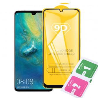 Защитное стекло (Полное покрытие) для для Huawei Honor 20i Черное