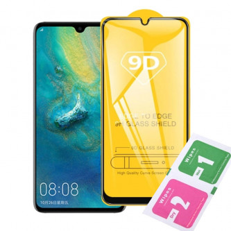 Защитное стекло (Полное покрытие) для для Huawei Honor 8X Черное