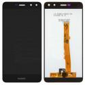 Дисплей Huawei Y5 2017 в сборе с тачскрином Черный - Оригинал LCD