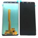Дисплей для Samsung A7 2018 A750F в сборе с тачскрином Черный - Оригинал