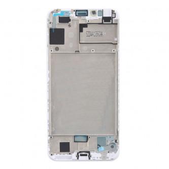 Рамка дисплея Huawei Honor 7A Pro / Y6 2018 / Y6 Prime 2018 / Honor 7C AUM-L41 Белая(без проклейки) - AA