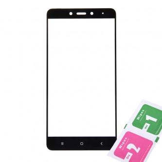 Защитное стекло (Полное покрытие) для Xiaomi Redmi Note 4/Note 4 Pro Черное