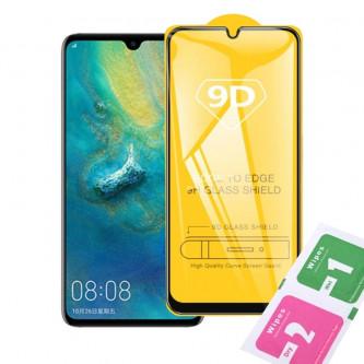 Защитное стекло (Полное покрытие) для Huawei P20 Lite Черное