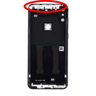 Крышка(задняя) Asus ZB602KL (ZenFone Max Pro M1) Черная + линза