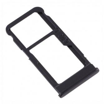 Лоток сим карт Nokia 5.1 Plus Черный