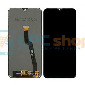 Дисплей для Samsung A10 A105 / M10 M105 в сборе с тачскрином Черный - Оригинал