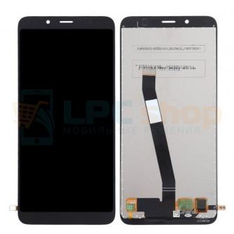 Дисплей для Xiaomi Redmi 7A в сборе с тачскрином Черный