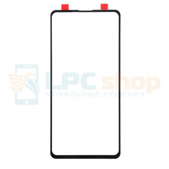 Стекло (для замены) Xiaomi Redmi K20 / Mi 9T / Mi 9T PRO Черное