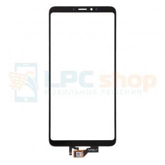 Тачскрин (сенсор) для Xiaomi Mi Max 3 Черный
