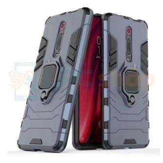 Защитный чехол - накладка для Xiaomi Redmi K20 / Mi 9T / Mi 9T PRO Синий(Navy Blue) (с магнитом для держателя и кольцом)