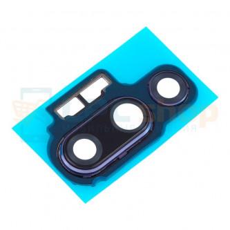 Стекло задней камеры Huawei P20 Pro в рамке Фиолетовое