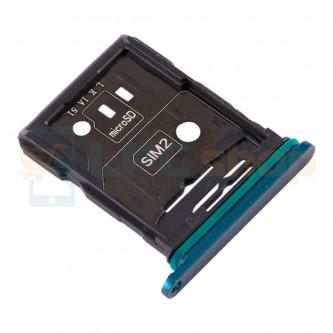 Лоток сим карты и карты памяти OPPO Reno 10x Zoom Синий