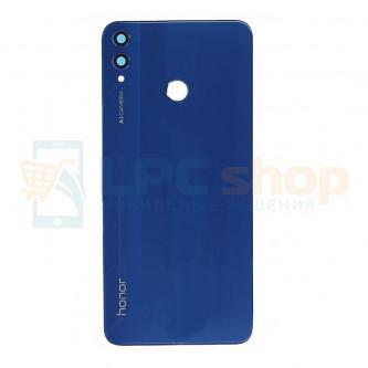Крышка(задняя) Huawei Honor 8X Синяя с линзой камеры