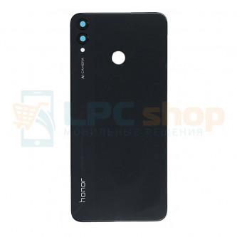Крышка(задняя) Huawei Honor 8X Черная с линзой камеры