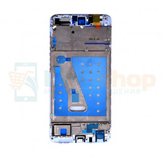 Рамка дисплея для Huawei P Smart Белая (без проклейки)