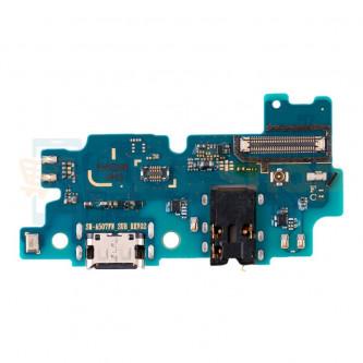 Шлейф разъема зарядки для Samsung A50S A507F (плата) разъем гарнитуры/микрофон