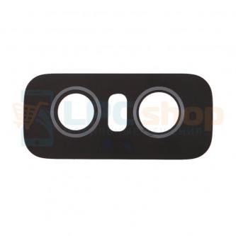 Стекло задней камеры Asus Zenfone 6 ZS630KL Черный