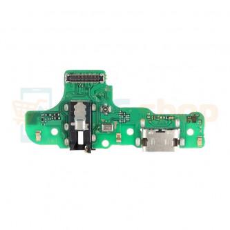 Шлейф разъема зарядки Samsung A207F (A20s) плата разъем гарнитур и микрофон