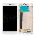 Дисплей Xiaomi Redmi Note 5A Pro / Prime с тачскрином в рамке Белый - Оригинал LCD