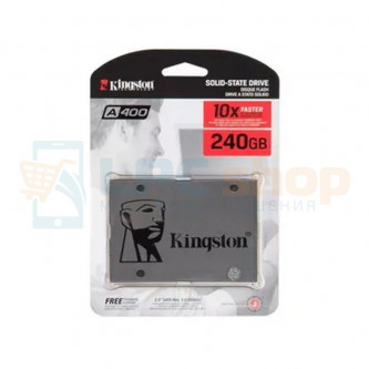 "SSD Kingston A400 240GB (SATA-III,R/W-500/320 MB/s,2.5"",TLC)"