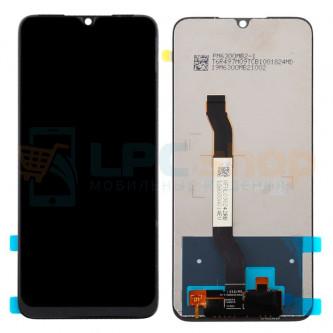 Дисплей для Xiaomi Redmi Note 8T в сборе с тачскрином Черный