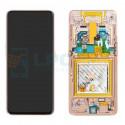 Дисплей для Samsung A80 A805F c рамкой Золото - Оригинал