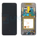 Дисплей для Samsung A80 A805F c рамкой Черный - Оригинал