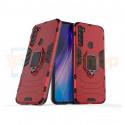 Защитный чехол - накладка для Xiaomi Redmi Note 8T Красный (с магнитом для держателя и кольцом)