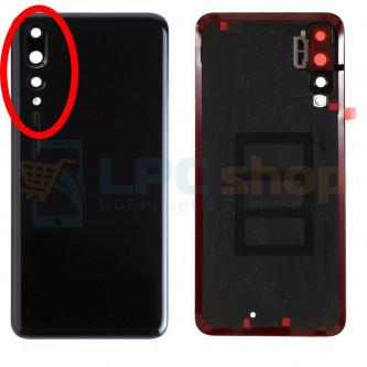 Крышка(задняя) Huawei P20 Pro Черная с линзой камеры