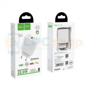 СЗУ USB Hoco C69A ( 2A, QС3.0 ) Белый