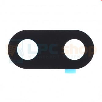 Стекло задней камеры Xiaomi Redmi 6A (не подходит к Redmi 6) Черное