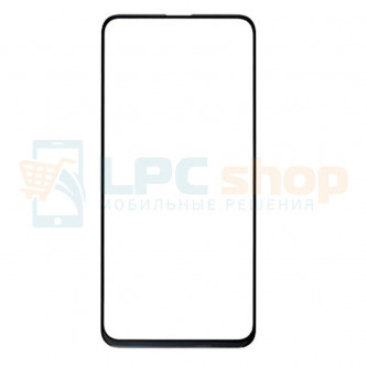 Стекло (для замены) Huawei P Smart Z (STK-LX1) / Honor 9X Global STK-LX1 / y9 prime Черное