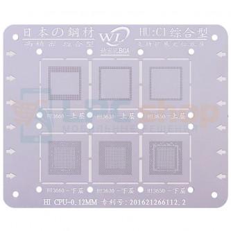 WL BGA трафарет для HiSilicon (HU:C1) Hi3660 / Hi3630 / Hi3650