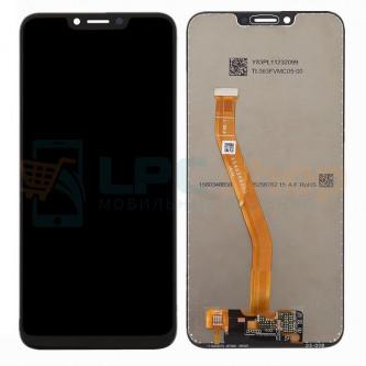 Дисплей Huawei Honor Play в сборе с тачскрином Черный - Оригинал LCD