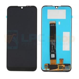 Дисплей Huawei Y5 2018 / Y5 Prime 2018 / Honor 7A в сборе с тачскрином Черный - Оригинал LCD