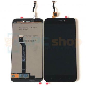 Дисплей Xiaomi Redmi Go в сборе с тачскрином Черный - Оригинал LCD