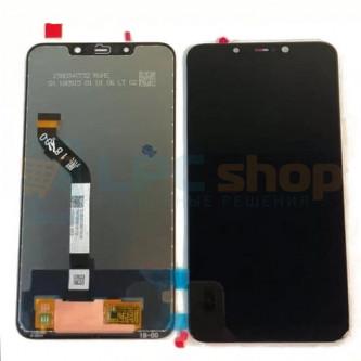 Дисплей Xiaomi Pocophone F1 в сборе с тачскрином Черный - Оригинал LCD