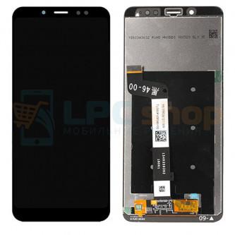 Дисплей Xiaomi Redmi Note 5 / Note 5 Pro в сборе с тачскрином Черный - Оригинал LCD