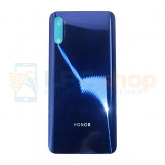 Крышка(задняя) для Huawei Honor 9X Синий (версия без отпечатка пальца)