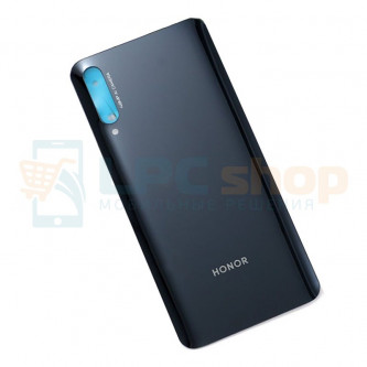 Крышка(задняя) для Huawei Honor 9X Черный (версия без отпечатка пальца)
