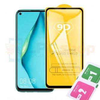 Защитное стекло (Полное покрытие) для Huawei P40 Lite Черное