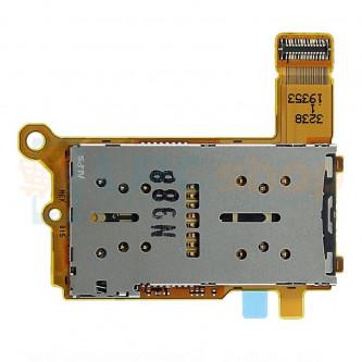 Шлейф для Sony 5 Dual J9210 на разъем SIM и MicroSD