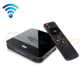 "Смарт-ТВ приставка (Android TV Box) ""H96 MINI H8 4K"" (RK3228A Quad-core Cortex-A7 / Android 9.0 / Wi-Fi 2.4 / USB / HDMI / 1G/8G"