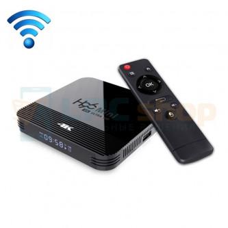 "Смарт-ТВ приставка (Android TV Box) ""H96 MINI H8 4K"" (RK3228A Quad-core Cortex-A7 / Android 9.0 / Wi-Fi 2.4 / USB / HDMI / 1G/8G"