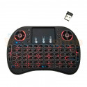 Пульт AIR Mouse для Смарт ТВ /  TV Box / Xbox360 / PS4 универсальный с подстветкой (3 цвета) Bluetooth / USB