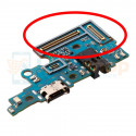 Шлейф разъема зарядки для Samsung A70 A705F (плата) разъем гарнитуры и микрофон - высокое качество