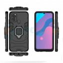 Защитный чехол - накладка для Huawei Honor 9A Черный (с магнитом для держателя и кольцом)