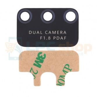 Стекло задней камеры Huawei Honor Play 9A (MED-AL20 / MOA-AL20) Черное